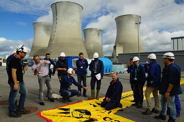 EDF-training over overstromingsbescherming