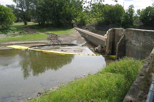 Kistdam afwijking rivierwerk