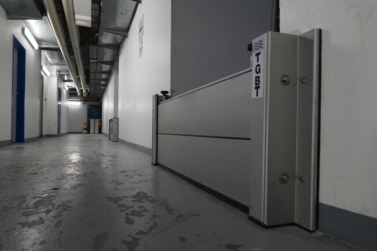Aluminium barrières
