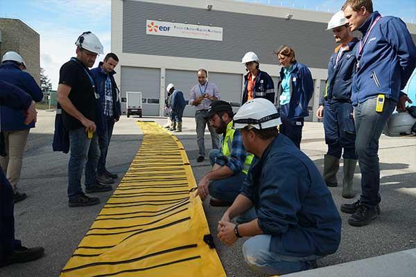 Megasecureurope EDF-waterkering