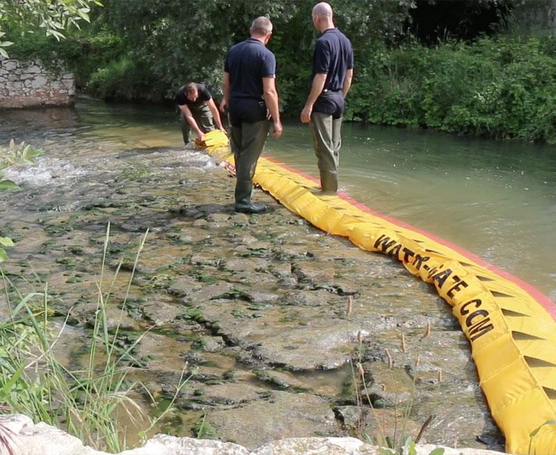 Hoe een rivierdrempel in 3 minuten op te drogen!