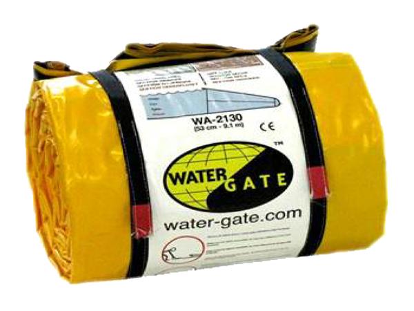 Watergate dam roll